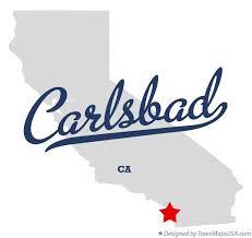 california map carlsbad map of carlsbad ca california