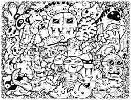funny doodle by bon arts doodling doodle art coloring pages