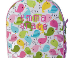 personalized toddler backpack quilted boys backpack