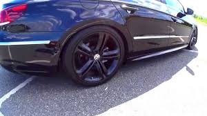 volkswagen passat black rims plasti dipped wheels black with glossifier youtube