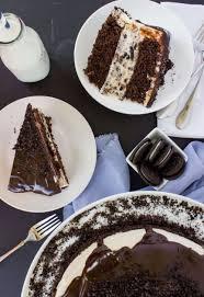 cookies and cream cheesecake stuffed cake sugar spun run