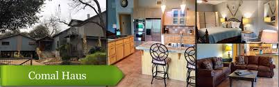 vacation new braunfels vacaton rentals cabins homes for rent