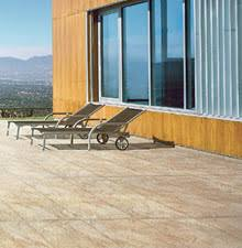 patio design ideas with tile and stone