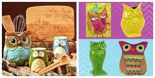 Owl Decor For Kitchen Owls Colorful Owl Kitchen Decor – hicroub