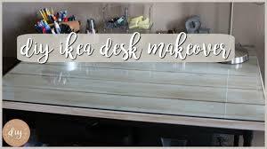 Ikea Table Top Hack Diy Ikea Hack Kullaberg Desk Makeover Youtube