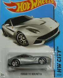 wheels f12 berlinetta amazon com wheels hw city f12 berlinetta silver