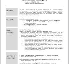 Sample Resumes Objectives by Sensational Resume Objectives Samples 12 Sample Objective