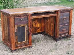 Dark Wood Computer Desk Barn Wood Computer Desk Best Home Furniture Decoration