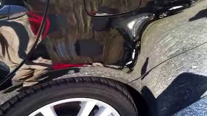 lexus body repair san diego lexus is 350 left rear quarter repair www doordingfix com 717 473