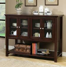 Dining Room Table And China Cabinet Upgrade The Look And Function Of Your Dining Room With This Wooden