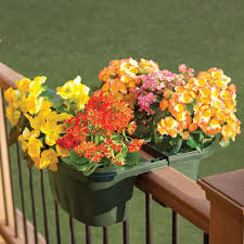 planters outstanding adjustable railing planters adjustable