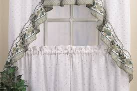 Kitchen Curtain Sets Kitchen Curtains Sets Image Of Rust Kitchen Curtains Burlap