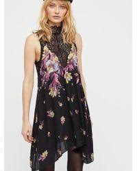 free people ibiza lace dress in black lyst