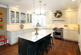white kitchen black island u2013 subscribed me