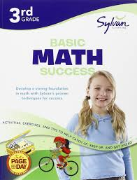 third grade basic math success sylvan workbooks sylvan math