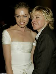 portia hair company a slender portia de rossi goes makeup free with wife ellen daily