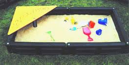 plastic borders sandbox playground equipment usa