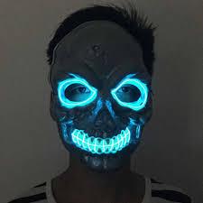 creepy mask led skull creepy mask mask led skull