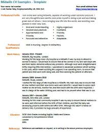 new cv midwife cv exle learnist org
