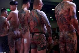 shanghai international art festival of tattoos sees fans gather to