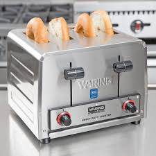 Waring Toaster Ovens Waring Wct800 Heavy Duty 4 Slice Commercial Toaster 2200w