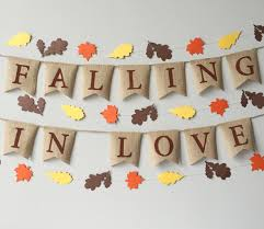 burlap thanksgiving banner falling in burlap banner fall decor fall wedding falling in
