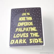 dad card ideas star wars card funny birthday day card emperor palpatine dark