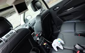 Dodge Journey 2015 - there u0027s a dvd player in back and an rca port for entertaining kids