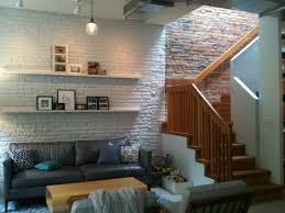 stylish basement cave man decors ideas with artwork picture hang