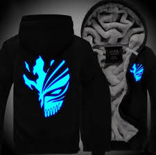 bleach hoodie free shipping worldwide
