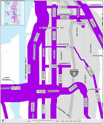 seattle map traffic the numbers tell the story