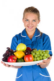 nurse and a bowl of fruit free stock photo public domain pictures