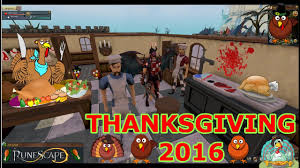 thanksgiving event 2016 runescape free to play
