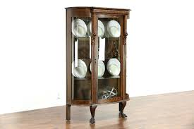 Home Interior Lion Picture Curio Cabinet Curio5 17lion2 Antiqueio Cabinet Lightsved Glass