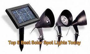 best solar flood lights top 5 best solar spot lights today solar equipment world