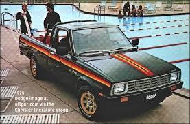 Ram Dodge Pickups 1981 93 Dodge Ram 50 Mitsubishi Built Compact Pickup