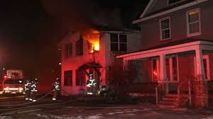 where do you put a st 40 firefighters put out flames at st paul home kstp com