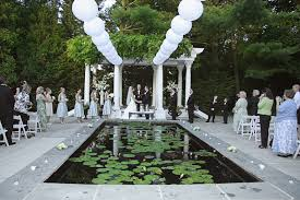 wedding ceremony decorations outdoor garden backyard budget amys