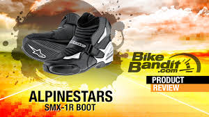 low cut motorcycle boots alpinestars smx 1r motorcycle boots review bikebandit com youtube