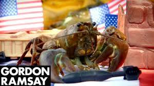 gordon ramsay thanksgiving recipes freshly caught crayfish salad gordon ramsay