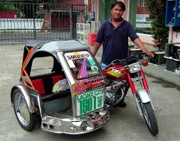 philippines motorcycle taxi filipino icon tricycle and pedicab ffe magazine
