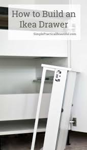 How To Assemble Ikea Kitchen Cabinets How To Assemble An Ikea Sektion Drawer Simple Practical Beautiful