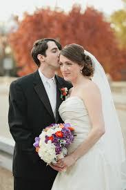 Purple And White Wedding Orange Purple And White Wedding Flowers Chelsea And Damien
