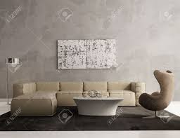 Contemporary Gray Living Room Furniture Contemporary Grey Living Room Interior Stock Photo Picture And