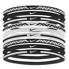 elastic hair bands rebel sport nike elastic sport hairbands 9 pack