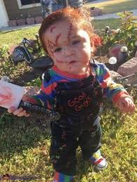 chucky costume toddler diy toddler chucky costume he will kill you with cuteness