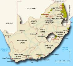 a picture of south africa map map of south africa south africa map