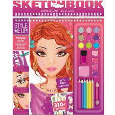 makeup artist sketchbook make up artist sketchbook children age 11