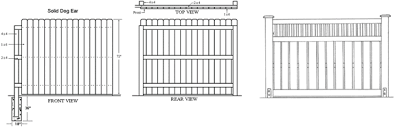 Woodworking Design Software Freeware by Fence Design Software Fence Designs Wood Fence Designs