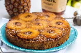 bourbon pineapple upside down cake olive u0026 mango
